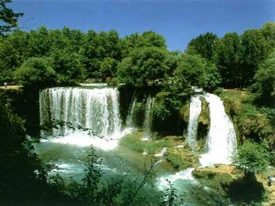 Antalya Düden vízesés