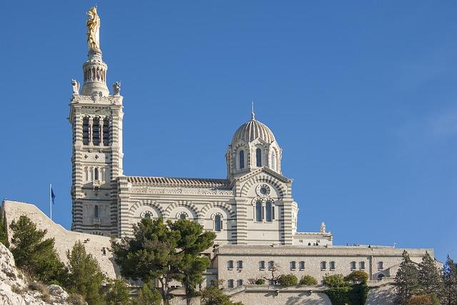 Notre-Dame de la Garde bazilika - Marseille