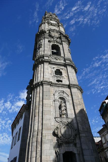 Torre dos Clérigos - Porto nevezetességei