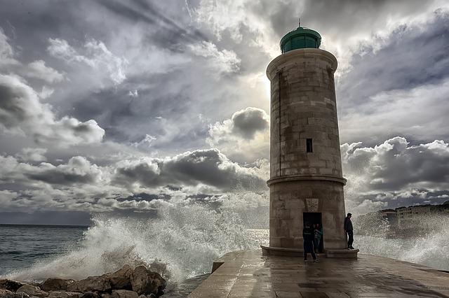 Világítótorony Marseille-ben