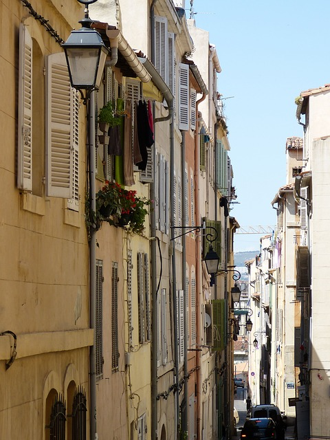 Marseille látnivalók - Le Panier