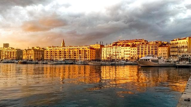 Marseille kikötője
