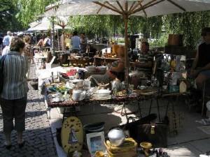 vasárnapi piac Ljubljana