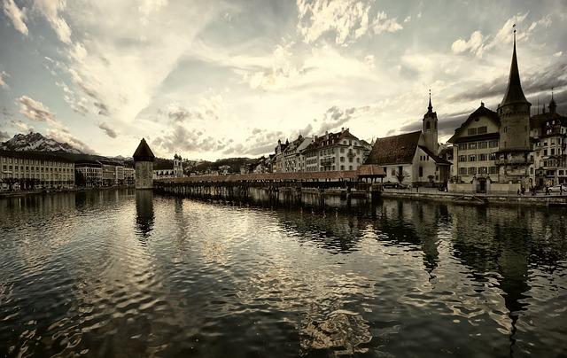 Luzern Seebrücke