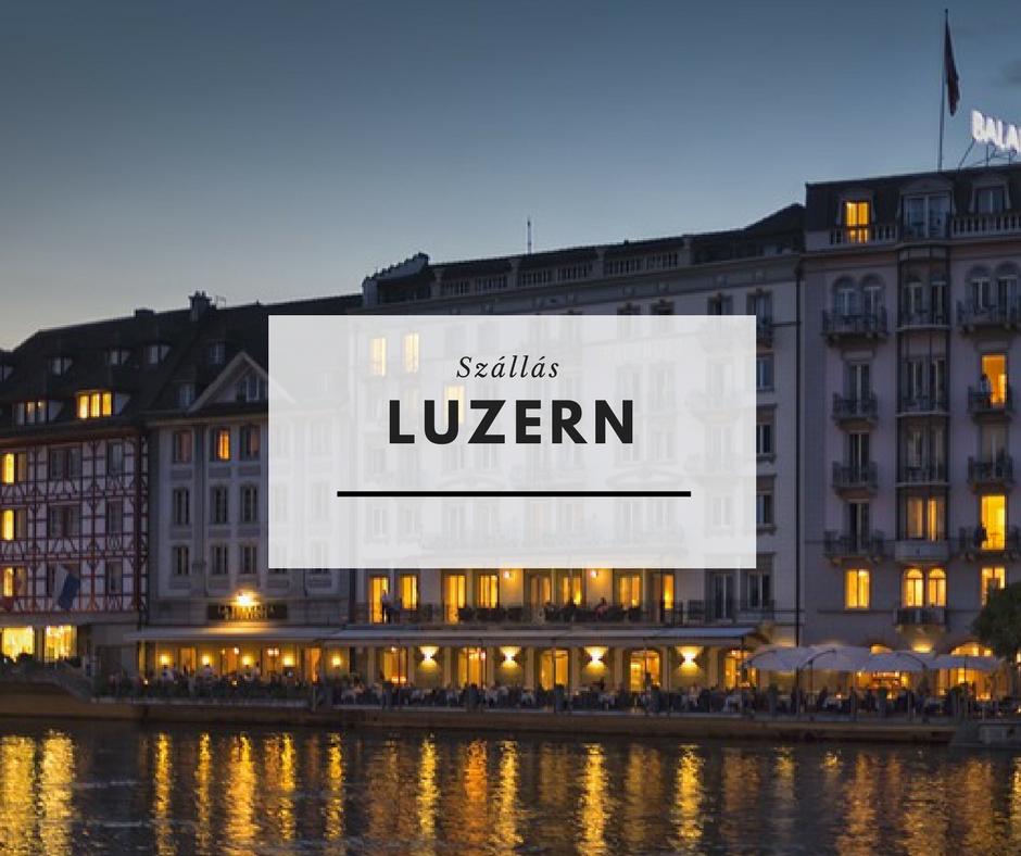 Szállás Luzernben