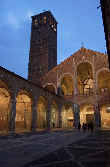 Basilica Sant'Ambrogio Milánóban