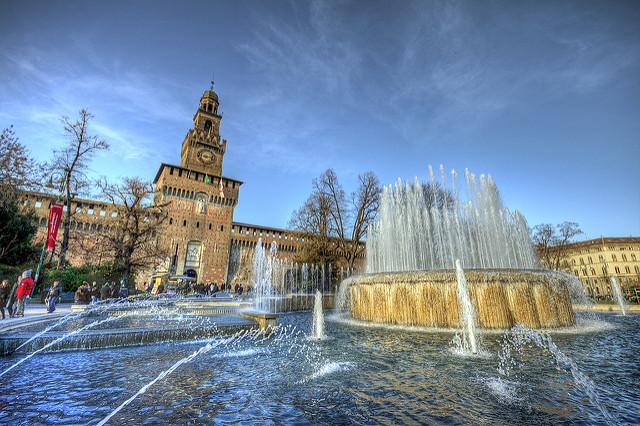 Castello Sforzesco Milánóban