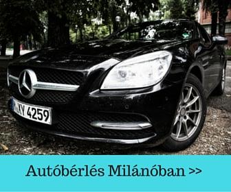 Autóbérlés Milánóban