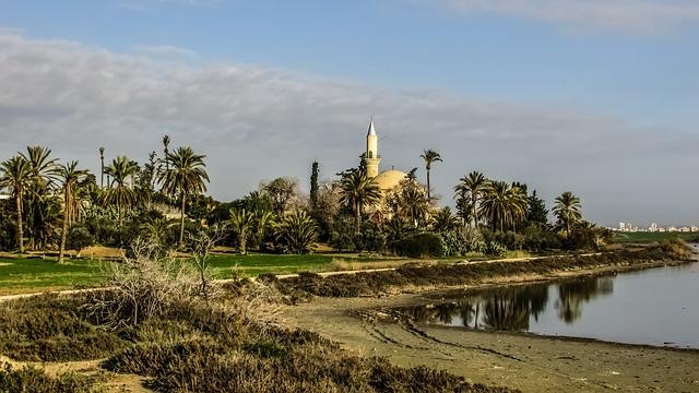 Hala Sultan Tekke mecset Larnacában