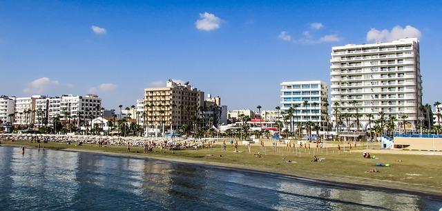 Larnaca városi strandja