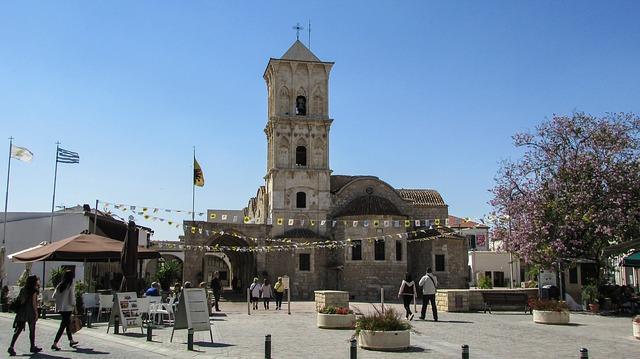 Ayios Lazaros templom Larnacában