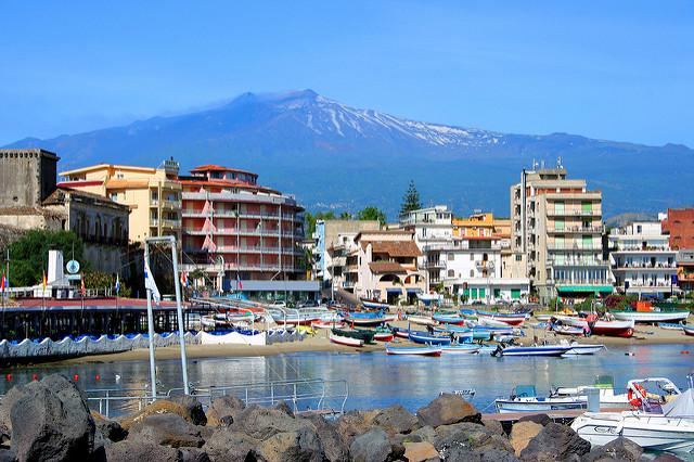 Giardini-Naxos - Szicília