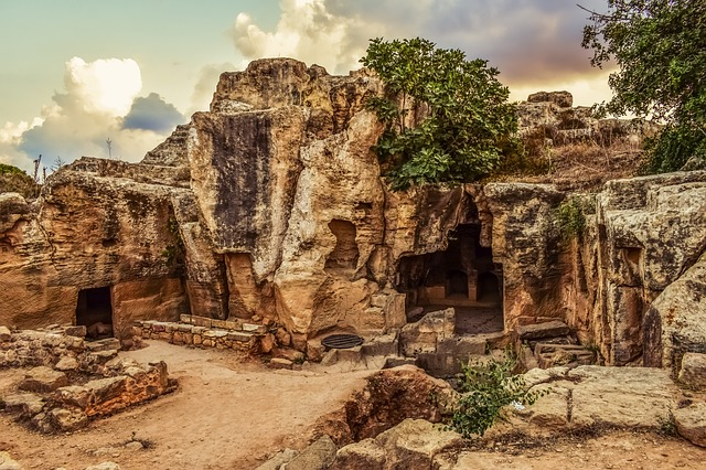 Tombs of the Kings - Paphos Királysírok