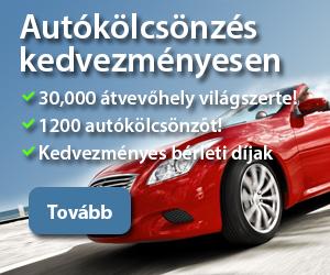 Autóbérlés kedvezményesen online